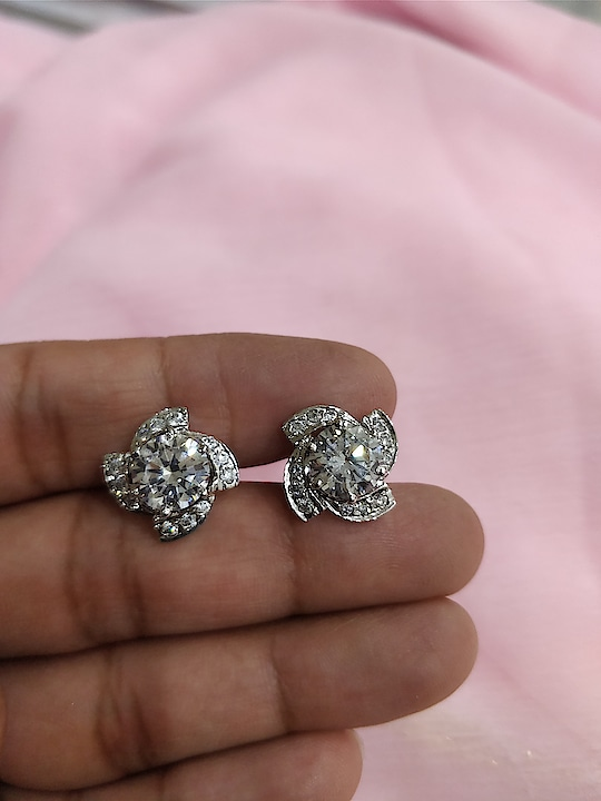 AAA quality Cz tops in Sterling silver with 1 year guarantee