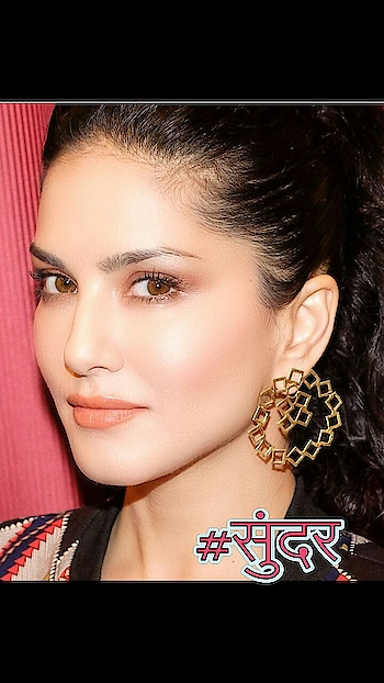 #sunnyleone #beautifulearrings #bold-is-beautiful #filmisthanchannel