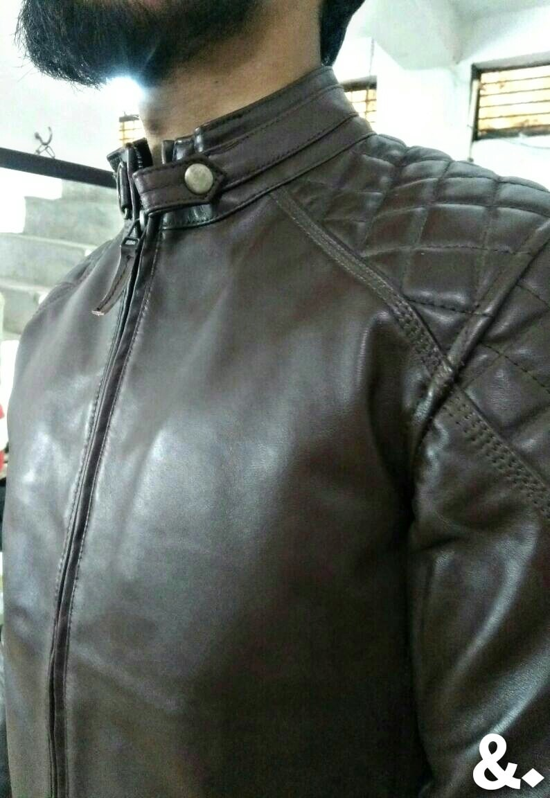 Launching genuine leather designer jackets with limited stocks. order now  #fashion  #leatherjacket  #men-fashion  #roposo #wintertrends