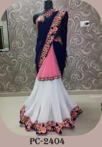 👗D NO - PC 2404👗 🌷SAREE FABRIC-  Georgette,     🌷BLOUSE --   FABRIC-Banglori,    🌷WORK-   Embroidery with fancy patch work,     Ready to dispatch 🌷RATE- 1200/- INR Only,     best quality  **WHATSAPP ME AT +91 9760614947** #lehenga#lehengacholi#indianfashion#indianweddings#sagan#mehndi#designerdress#delhi#mumbai#fashion#dallas#dallasindia#wedding#indianwedding#london#londonfashionweek#canada#australia#dubaifashion#dubaiethnic#womenfashion#trendy#latest#sareehyderabad#delhi#delhistreet#pune#bangalore#delhiwedding#floral,