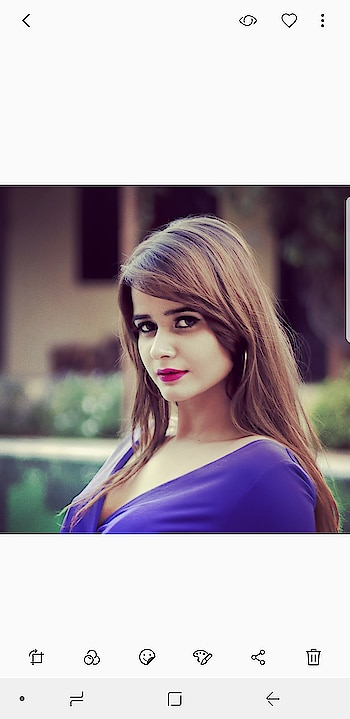 Real girls are never perfect and perfect girls are not real. . . #roposotimes #model  #fashionmodel  #roposodaily  #soroposoblogger #roposo-makeupandfashiondiaries #purplelove