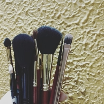Love my brushes😍 time for them to take a bath though😅 Also have you seen my recent Rakhi special video ? 🙈 The link is in my bio- it's about 15 gift ideas for sisters and GRWM 💗 do like and subscribe 😄 #styleinsense #indianyoutuber #mumbaiyoutuber #linkinbio #subscribe #makeupbrushes #affordablebrushset #rakhispecial #rakhimakeuplook #rakhigiftideas