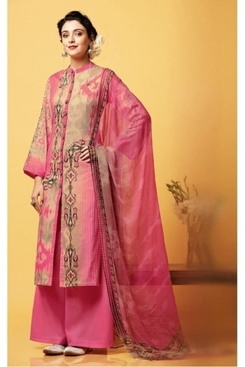 Office Wear Pink Chiffon Palazzo Suit - 81256 @ Rs.2490/- Only   Buy now : https://goo.gl/kjEQjm  Order on Whatsapp : 09321219977    Flat 10% OFF on First Order ( Use Coupon - IAMNEW10 ) Get Free Home Delivery + COD + Easy EMI + Easy Refund / Replacement Policy.!! *100 % Customer Satisfaction * Stitching Service Available * Hurry Up To Grab Exciting Offer On storeadda !!!! * World Wide Shipping  #salwarsuit #salwarkameez #anarklalisuit #embroidred #womnesonlineshopping #ethnicwear #fashionblogger #bridal #weddingseason #fashionblog #bloggers #blogstyle #palazzosuit #chiffon #palazzolove