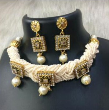 Basra Beads Choker...Contact #9967065136 For Rate