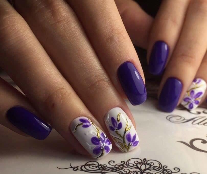 #vow#nail art
