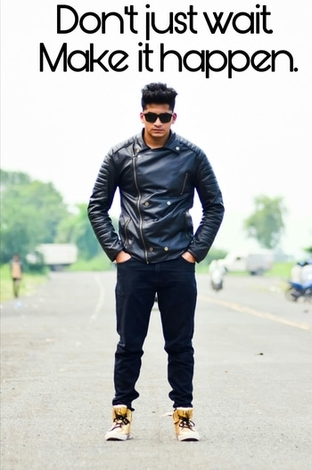 #roposostyle #roposo-good #summer-style #jacket #shoes #black #goggles #hairstyle  #Faddystyle #fashionfables