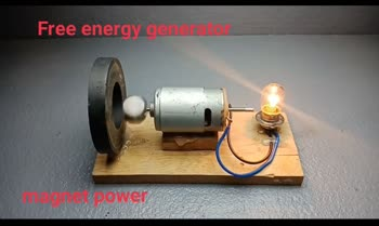 https://youtu.be/pj7Dr5Xp1-M  science projects Free energy generator homemade #scienceandtechnology #projects #project #free #powerful