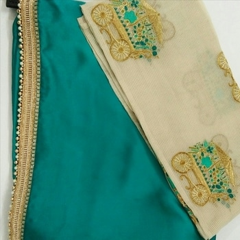 #sareecollection2017 by #simbhacreations  ##designer#saree #embroideredblouse #ethnicvibes #seagreen #beadedsaree #freeshipping #simbhacreations  #sarees