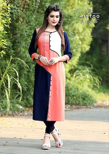 #MoreShe #kurti #kurtisforwomen #fashionforwomen  only at 850 free shipping  contact for more detail watsapp-- 8400520331