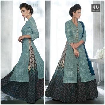 Buy Now @ https://goo.gl/wqHzDb  Majestic Blue and Grey Color Long Choli Lehenga  Fabric-Georgette  Product No 👉VJV-NAKK3050  @ www.vjvfashions.com  #chaniyacholi #ghagracholi #indianwear #indianwedding #fashion #fashions #trends #cultures #india #womenwear #weddingwear #ethnics #clothes #clothing #indian #beautiful #lehengasaree #lehenga #indiansaree #vjvfashions #bridalwear #bridal #indiandesigner #style #stylish #bollywood #kollywood #celebrity #outfits #vjvfashions #lehengas