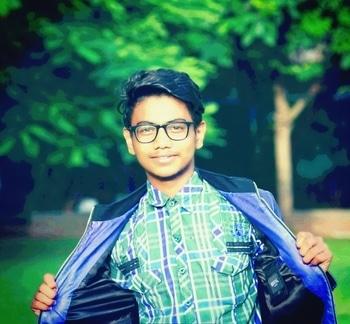 #beautyful #boy #innocence #look #black #goggles #greenery #times