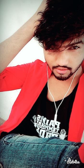 #black-and-red #imvijay #loveroposo #jaipurblogger #angel