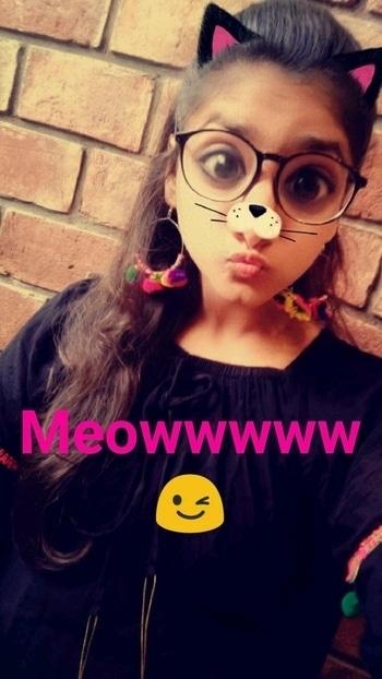 Can't stop myself ..i m just addicted to snapchat 😘😝 #snapchat #happysoul #kitty #limitededition #likeforlike #popxoblogger #popxocampus #likeforlike #like4like #likeback #inspiration #indianoutfit #cutestuff #girlystuff #girls #girlythings #girlygirl #happygirls #happyus #ropo-love #loveing #roposobeauty #belikeher #believeinyourself #roposofashionblogger #fashion #fashion-diva #fashion styling #glamour #glamorousselfie #lookbook #kittyparty #meow