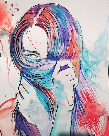#abstract #portrait #painting #love #roposostyle
