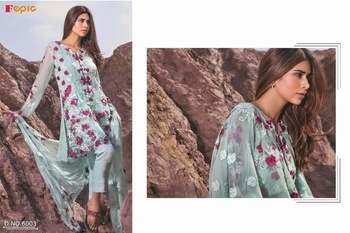 🙏🏻Dear         Sir/Madam... Thanks for your support.🤗 🎁Today we are launching Pakistani  Concept...    💕ROSEMEEN eid collection *NX* 💕          heavy dupatta work        👇🏻Fabric details 👇🏻  👗 Top : GEORGETTE   👖Bottom   : HEAVY SANTOON (bottom has emb patch)  INNER- SANTOON   🔺Dupatta : NAZMEEN HEAVY DUPATTA WORK  *🔻@ 1350 /-single*  *➕shipping extra*     🚶🏻🚶🏻🏃🏼🏃🏼🏃🏼Hurry up... 📦LIMITED STOCK 📦 🔸pre booking only  🔹book your order fast Limited stock   dispatch starts soon  *EID Collection NX*   Total 4 Pcs in set . Delivery-02-07-17. Book your order now .
