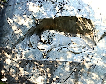 ~There is nothing in this world as invisible as a monument- Robert Musil~ #nbamtravels #tbt  . . #picoftheday  📸: The Lion Monument ( The Lion of Lucerne), #lucerne , Switzerland ☺ .#throwbackthursday  #naturalbeautyandmakeup   . . . . . . . . . #travelblogger  #historicalplace  #historical  #travelawesome #monument  #monumental_world #sculpture  #travelblogger  #travelphotography  #roposodaily  #rock  #luzern  #switzerland  #wanderlust  #beauty  #holiday  #neverstopexploring  #scenic  #traveligram  #architecture  #likeforlikers  #travelphotographer  #lion  #structure