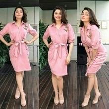 Who wore this Cotton Candy Shirt dress by Sonakshi Raaj?? Prachi Desai or Urvashi Rautela???