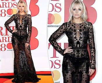 #black #gown #hotness #bra #bikini #transparent