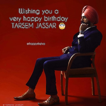 Wishing to you very very happy birthday 🎂🎂🎂@tarsemjassar you so really hard work in their life and so now achieved success in our life👌 i will be hope that you more hard work in future and take blessings from fans🤗🤗 #tarsemjassar #happybirthday #very #very #honorable #talent #man #turbanator #vehlijantateam