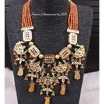 This Color And Design Has My Heart 💓  Dm or whatsapp 7503577614 to order.  #royal #jewels #jewellery #art #heritage #handpainted #_jaipuri_jewels #beautiful #amazing #camera #shoot #shooting #photographers #picture #bridalwear #dubai #sharjah #bangkok #ontario #canada #punjab #chandigarh #punchkula #royalty #sardaar #sardaari #jatt #makeup #hudabeauty