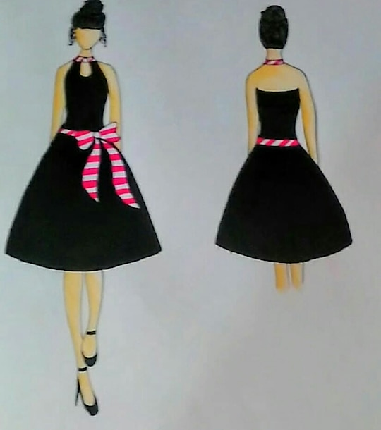 Stripes Design collection  #stripes #pinkwhitestripes #designer #designcollection #designthinker #creatvity #creationsbyshivani  By @shivanidaga