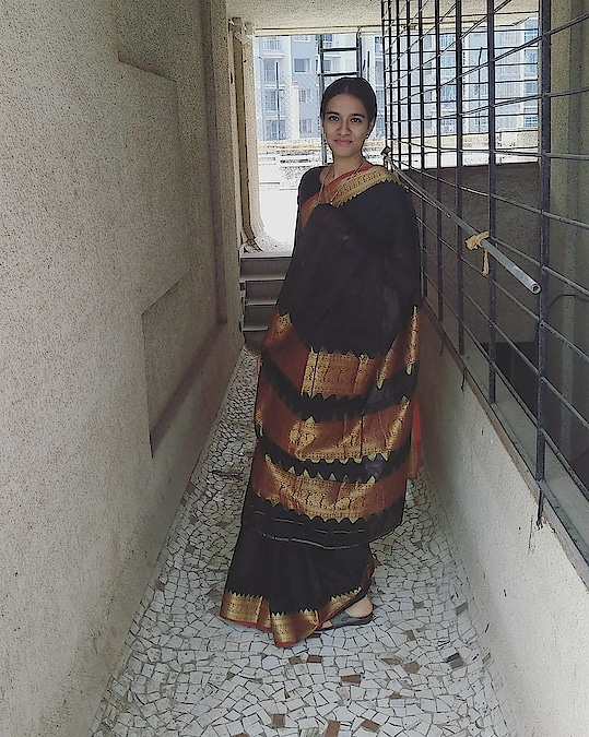 traditional look  #roposo #traditional #traditionallook #traditionalwear #traditionalwear #trading #fashion #style #beauty #saree #saree-in-new #silk #silksaree #jewellery #jewellery #facelook #face