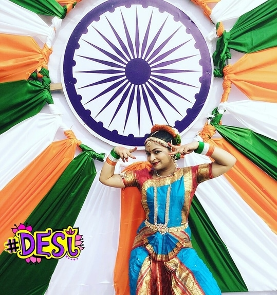 Happy Independence Day to all ☺   This Independence day recognize the culture of India. I often see people running after western culture, forgetting that their own culture has some of the finest things, be it be art, dance, tradition & what not.   Make urself free from the influence of western culture & be proud to promote Indian culture,  this Independence Day.   #indianculture #indiandanceform #classicaldance #bharatnatyam #picoftheday #dance #danceforms #indiandanceforms #tricolor #independenceday #15august #desi #indian #indianblogger #danceblogger #jewellery #bharatnatyamjewels #delhiblogger #Twinklewithmystyle  #picoftheday #bharatnatyam #outfitinspiration #classicstyle #classicaldance #desi