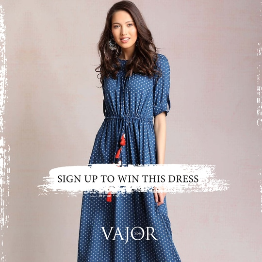 #ContestAlert  Sign up With Vajor.Com for a Chance to Win This Gorgeous Maxi Dress. Click here: http://bit.ly/2rcKUcN  Read T&C before Participating  Terms and conditions: 1. Sign up on Vajor.com website. 2. Inbox us registered email ID.  3. Tag 5 friends of yours in comment and Follow Vajor on Facebook. 4. Contest ends on 18th June midnight.  5. Anyone who has followed all the rules will qualify for contest 6. Winners will be announced on 19th June.  #Contest #WinthisDress #Giveawayalert #Bohofashion #maxidress #winthecontest #womensfashion #instafashion #instastyle #participatenow