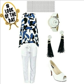 Tuesdays With Tunics. Bring on Summer. Stay elegantly stylish at your #workplace.  #play with #basics like tunic which is in every girls #wardrobe.  Comfy Tunics are paired with #trousers , #palazzo & #jegging.  #shoes are always the eye catcher.  Get accessorized with trendy #shades & #handbags. Be #experimental with your look & outfit. #lookoftheday