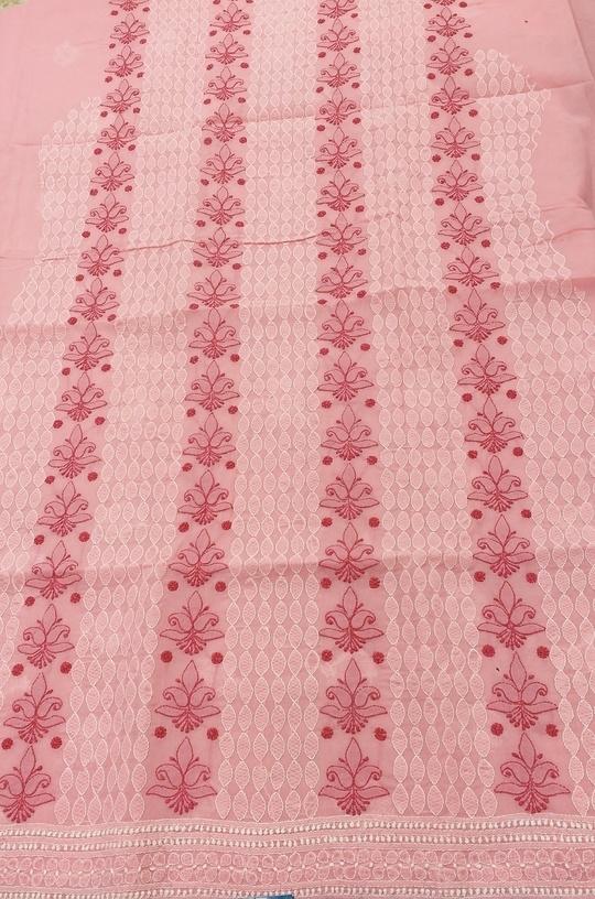 Noorie piece aka kurta material  Rs1450/- including shipping.. #womenwear #womenroposo #chikankari #shaaneawadhchikankari #shaaneawadh #shivamchikan #chikanwork #lucknow #lucknowchikankari   #lucknowchikankaribyshaaneawadh