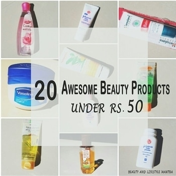 New Post // 20 Awesome Beauty Products That Cost Less Than Rs.50/- Available In India There is a general assumption that expensive products are the best for buy, but that's not necessarily true. In Today's post, I had to try to pick up the 20 best cheap beauty products which are highly appreciated by the consumer and also these are from best brands. Link below 👉 https://goo.gl/vXG7be