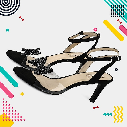 Bows are always in trend 🎀😍 Shop our latest Sheen Bow now available on our website 🙂 . . .  #INTOTOs #globaltrends #shoelove #fashionforall #trending #dailyfashion #designershoes #heelsbranded #party #trends #newshoes #elegant #kittenheels #shinyheels #black #shiny #trendy #stilettos #blackheels #weekendfashion #weekendwear #partywear #whatshot #strappys #newbeginnings #koovs #funky #blackshoes
