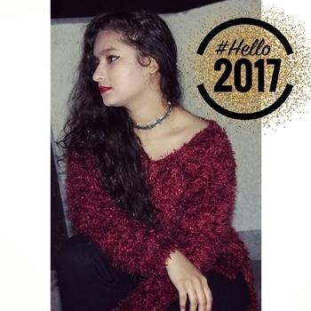 Wishing you all peace and love in the New Year 2017!! ✨ HAPPY NEW YEAR MY FAM!!✨❄💕 I LOVE YOU ALL❤ #happynewyear2017 #bringiton #2017 #fashionblogger #hemlatayadav #kissmyfashion_27 💋 #Hello2017