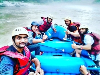 #RAFTING_with_FRNDS_fully_ENJOY  #darr_k_aage_jeet