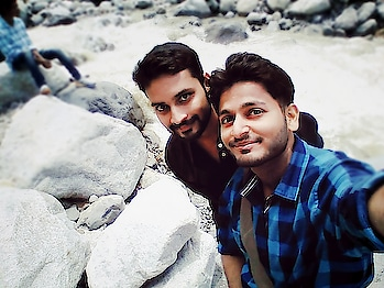 #traveladdict #manalidiaries #bff #brother #enjoyement #waterlove #soroposolook #togetherness #best-friends #friendshipgoals #coolstuff #coolbreeze #river #flows #lovethisone #stone #outing #chilled #refreshed #memories #be lively.
