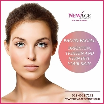 WANT MORE YOUTHFUL SKIN? TRY PHOTOFACIAL SKIN REJUVENATION   Photofacial or Photo-Rejuvenation treatments clearly improve the signs of photo-aging, with visible improvement in  fine lines, wrinkles, telangiectasia and irregular pigmentation resulting in a healthier radiant skin.   Photofacial skin rejuvenation works by using targeted light energy to safely treat abnormal blood vessels or pigmentation stimulating the body's natural healing process to assist in removing the condition while also promoting the natural production of collagen, leaving skin smoother, brighter and more evenly toned.  Call: 022 40227273 http://www.newageaesthetics.in  #photofacia #skincare #skintips #glowing #ageing #lasertreatments #photorejuvenation #antiaging #cosmeticskintreatments #facial #wrinklereduction #pigmentationmarks