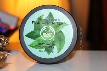 I absolutely love this light weight Fuji green tea body butter from @thebodyshopindia . 🌿The consistency is amazing, it gets absorbed instantly. . 🌿It does not leave skin greasy and sticky. . 🌿The moisturisation lasts for a long time. . 🌿It makes skin very soft. . #skincare