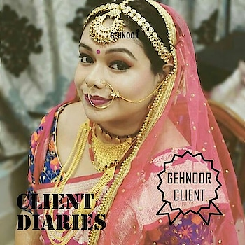 CLIENT DIARIES! 📝 . Our Clients are our Pride and we owe our everything to them! 💕 . The immense pleasure we find in fulfilling every Clients Dream of looking their best without burning a hole in their Pocket is what we strive for each day! 👍 . This Gorgeous Client was very clear when she chose this Kundan & Gold Pearl Mathapatti for her Bridal Look from our Collection! And it looks like Perfection! 💕 . Stock up your jewellery collection with the Gorgeousness from Gehnoor! 😍 . www.gehnoor.com 💻 . FREE SHIPPING anywhere in India 🚙 . Cash On Delivery Available across India 💲 . WhatsApp at 07290853733 📱 . www.facebook.com/Gehnoor/ . gehnoor@gmail.com 📝 . #bride #goldjewellery #kundannecklace #traditionaljewellery #happy #wedding #celebritywedding #destinationwedding #indianbride #bridechilla #photooftheday #instabride #bridalwear #bridaljewellery #tags #like #likeforlike #followfollow #followus #followback #gehnoor #earrings #chandbali #mathapatti #maangtika #tika #clientdiaries #happyclient