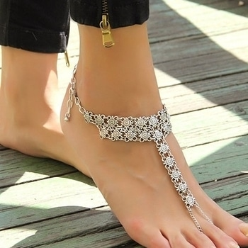 Silver oxidized Anklets. #anklet #anklet_obsession #ankletlove #ankletlover #beachfashion #springsummer #women-fashion #womenfashions #jewelrylover #jewelryaddict #jewelry #shforn