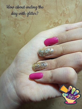 yay! perfect nails do help uh to end yur day perfectly!      #naillover #nailartdesigns #nail-addict #nails #naillook #prettynails #glitternails #nailartlove #nailsbyme #prettyinpink #indiannailartist #nailsdone #hairsarelove #pinknails #prettyinpink #simpleandelegant #nailartpromote #lookprettynstaypretty #nail-designs #nailporn #nailsonfleek #nailswag #nailsoftheday #polishgirl #nailss #nailart