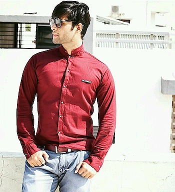 #red-hot #favcolor #sexy-look #chest #gym #boy #summerstyle #summer-looks #tonguetwister #body #building #ropo-love #roposo-fashiondiaries