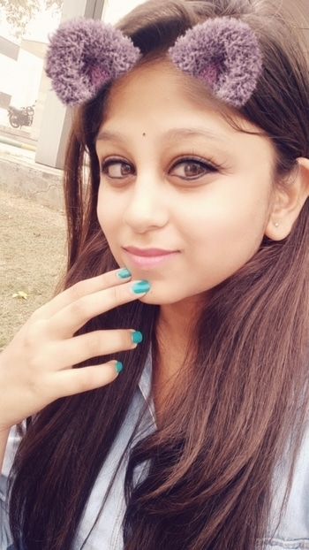 💟💟 . . #snapchatfilter #nails #aqua #color-pop #winterlook #cute #me #lovefashion #styles #blue #denim #roposo #roposo-style #indian #blogger #fbloggler #foggyday #morning #college #friends #havefun