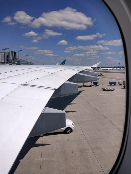 View from My Plane Window in Lufthansa A340 Jet :)!!