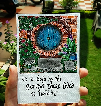 #hobbit #hobbithole #hobbiton #creativespace #creativespacechannel  #watercolors #instaart #sketchoftheday #art #aesthetic #art #artgallery #artinfo #artist #artnews #artshow #callforart #color #colour #creative #drawing #drawings #fineart #arts_moonlight #sunlight_art #hypnotizing_arts