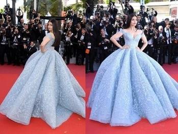 Cannes#film#festival #Ashwariya#rai#bachan#frozen#princessgown 2017