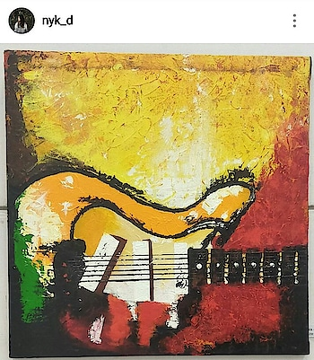 #painting  #myfirsttrek  #abstractart #guitar  🎸 #simplycooldesign   #abstract #art  #abstracters_anonymous #abstract_buf #abstractart  #abstract  #creative  #artsy  #beauty  #photooftheday  #abstracto #stayawesome  #attractive  #roposo #roposogal #roposo-style #roposogoal #roposotalenthunt #roposo-good #roposoness #instagram  👉 @nyk_d
