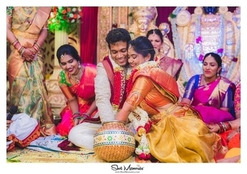 Competition begins right at the wedding 😂 . And we love Telugu weddings for this. There is more Color and fun all over.  For enquiries and bookings, call +91-9962012288 or visit www.shotmemories.com   #weddingphotography #weddingphotographer #weddingphoto #weddingday#weddingmoments #weddingceremony #weddingstyle#weddingfashion #bridalfashion#weddinginspirations #weddingdetails #weddingideas#indianbride #weddingring #weddingblog#indiangroom #weddingplanning#loveauthentic#ShotMemories#destinationweddingphotographer#bridalphotographer #couplesphotography #engagementphotos #engagmentphotography#engagementsession#bridebook #chennaiweddingphotographer