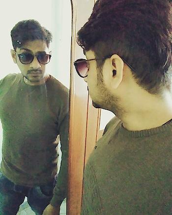 #selfie #ropo-style #roposostyle #styles #glares-rayban-aviators #rayban #double #hairstyle #haircolour