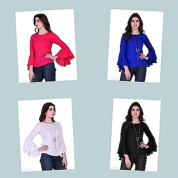 Check bio and dm me for shopping _Stun everyone around you with these Contemporary Stylish Stylish Rayon Slub Women's Tops. Look drop-dead Gorgeous!_  Catalog Name: * Stylish Rayon Slub Women's Tops Vol 7*  Fabric: Rayon Slub  Sleeves: Full Sleeves Are Included (Bell Sleeve)  Size: S - 39 in, M - 40 in, L - 42 in, XL - 44 in  Length: Up To 28 in  Type: Stitched  Description: It Has 1 Piece Of Top  Pattern: Solid  Dispatch: 2 - 3 Days  Designs: 15  Easy Returns Available In Case Of Any Issue #fashion #style #stylish #love # #me #cute #photooftheday #nails #hair #beauty #beautiful #instagood #instafashion #pretty #girly #pink #girl #girls #eyes #model #dress #skirt #shoes #heels #styles #outfit #purse #jewelry #shopping