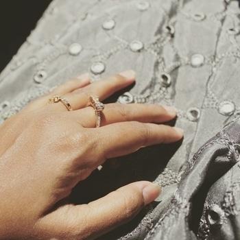 #rings #lehnga #mirrorwork #blogger #designer #instalife #lovemylife